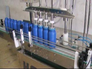 Envasadora de líquidos automática