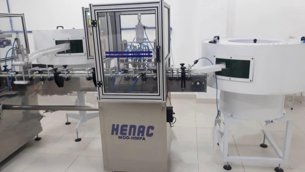 Máquina de envase para cosméticos