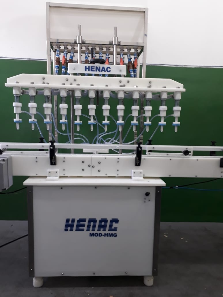 Máquina de envase industrial