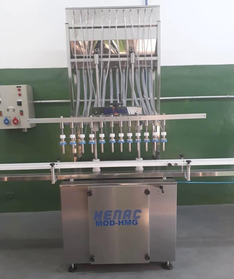 Máquina para envase de sucos
