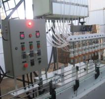 Envasadora de líquidos industrial