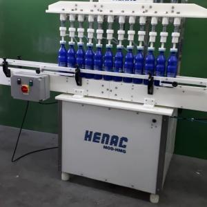 Máquina para envase de líquidos